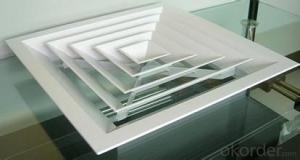 square air diffusers factory