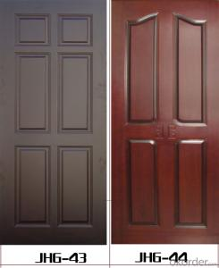 hot sales wooden door design honeycomb paper