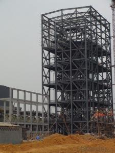 HEAVY STEEL STRUCTURE BUILDING AND PROJECT --YD 015