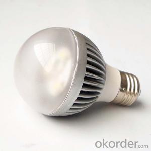 7W Aluminum  Plastic bulb, A60 E27 led bulbs , 230 beam angle aluminum bulb