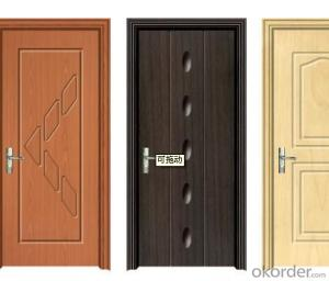 STEEL DOOR WITH LUXURY STYLE IN CHINA OF