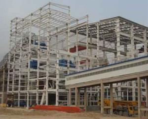 HEAVY STEEL STRUCTURE PROJECT AND BUILDING---PYCG--003
