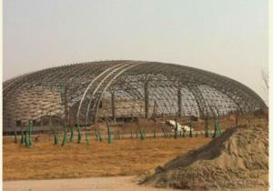 HEAVY STEEL STRUCTURE BUILDING AND PROJECT --HC- 014