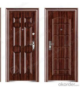 steel door in door (CE, SONCAP, ISO) (QH-0304)