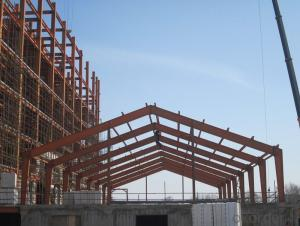 HEAVY STEEL STRUCTURE BUILDING AND PROJECT --YD 005