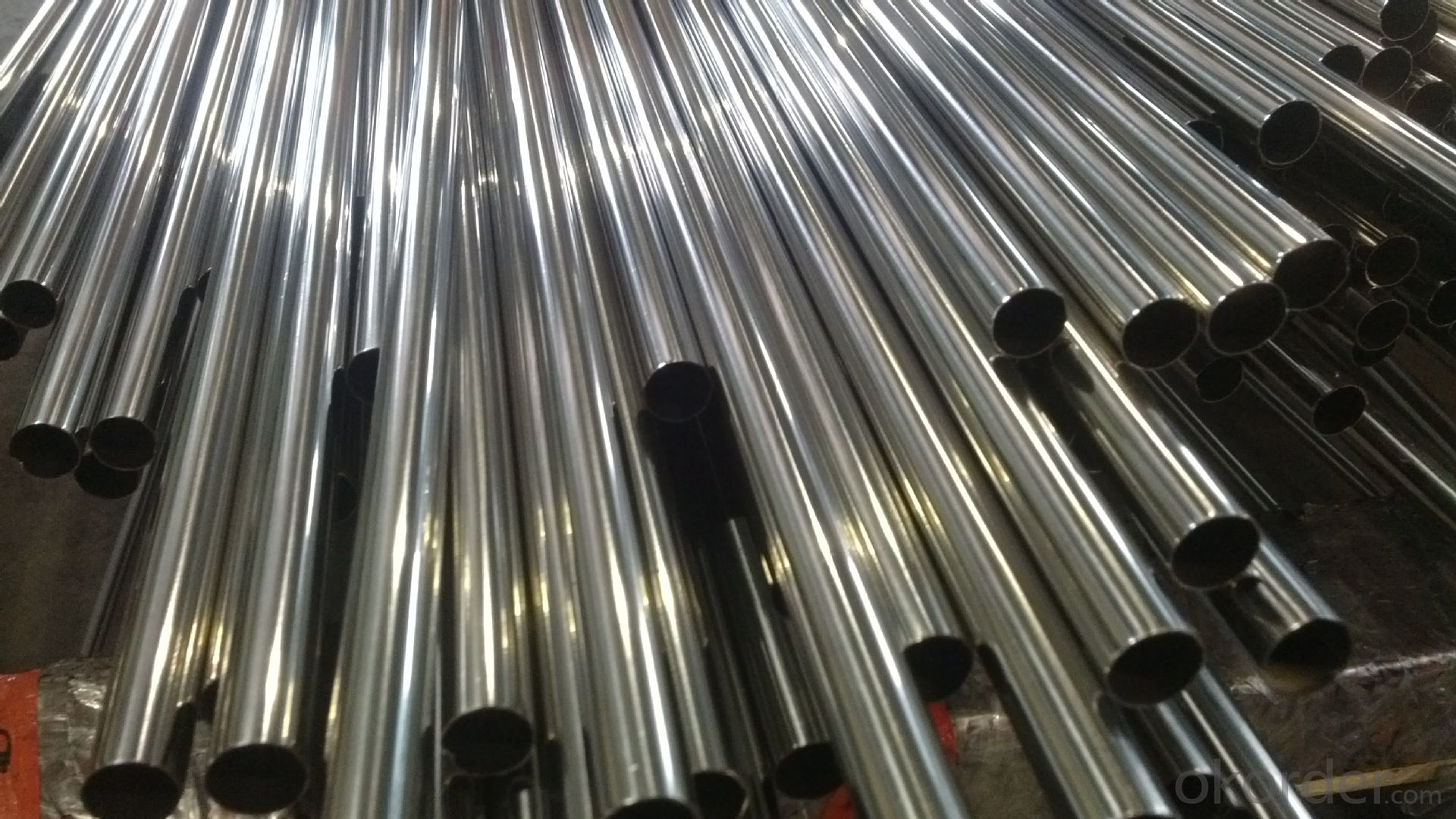 High selling quality bright stainless steel pipe ASTM 316L