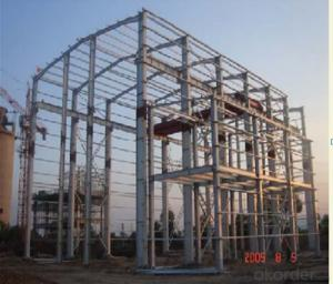 HEAVY STEEL STRUCTURE PROJECT AND BUILDING---PYCG--002