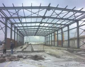 HEAVY STEEL STRUCTURE PROJECT AND BUILDING---PYCG--015