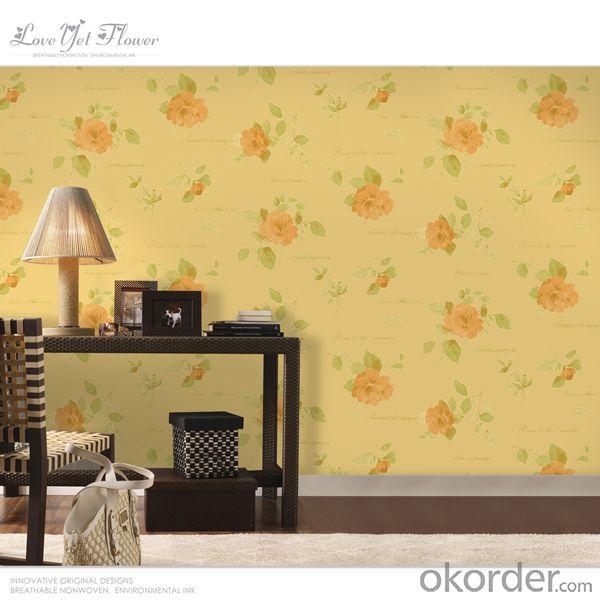 pvc wallpaper/non-woven wallpaper/metallic wallpaper/natural material wallpaper/designer wallpape