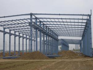 HEAVY STEEL STRUCTURE BUILDING AND PROJECT --YD 006