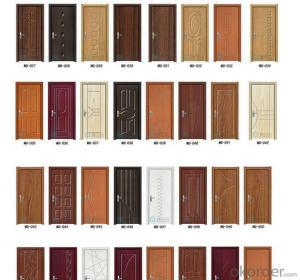 China manufacturer direct supply low prices exterior steel doors
