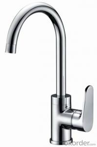 Faucet  Single handle brass tap for hot&cold water