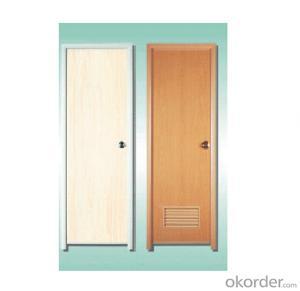 Resistance to deformation strip PVC Folding Door / pvc door