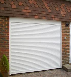 Automatic Rolling  Sectional Garage Door  for Overhead Design