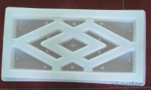 Latest injection plastic brick mold