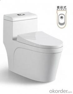 BATHROOM SANITARY WARE ONE PIECE TOILET -8050