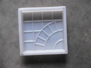 Hot selling concrete brick pavers paving mould stones plastic molds