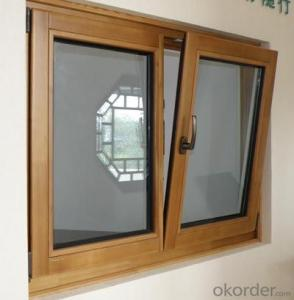 New Design Classical Style Aluminum Awing Window