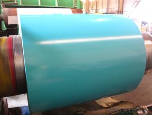 PPGI in coil ( for rolling shutter door and roofing ); professional prepainted metal sheet