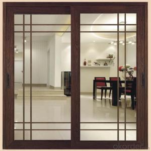 Wood Clad Aluminum Sliding Door Sliding Door