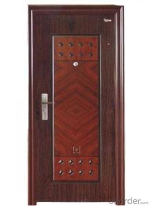 Metal Steel Security Door for Interior Use