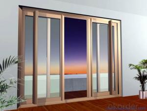 Aluminium Sliding Door with Double Toughened Glass