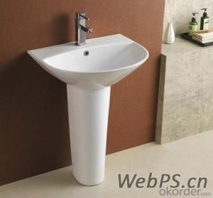 bathroom SINK ! ceramic  pedestal  basin