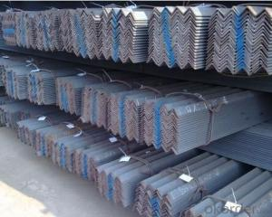 Angle Steel with Material: GB Q235B, Q345B or Equivalent; ASTM A36; EN 10025, S235JR, S355JR; JIS G3192