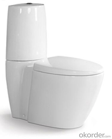BATHROOM SANITARY WARE TWO PIECE TOILET -8523