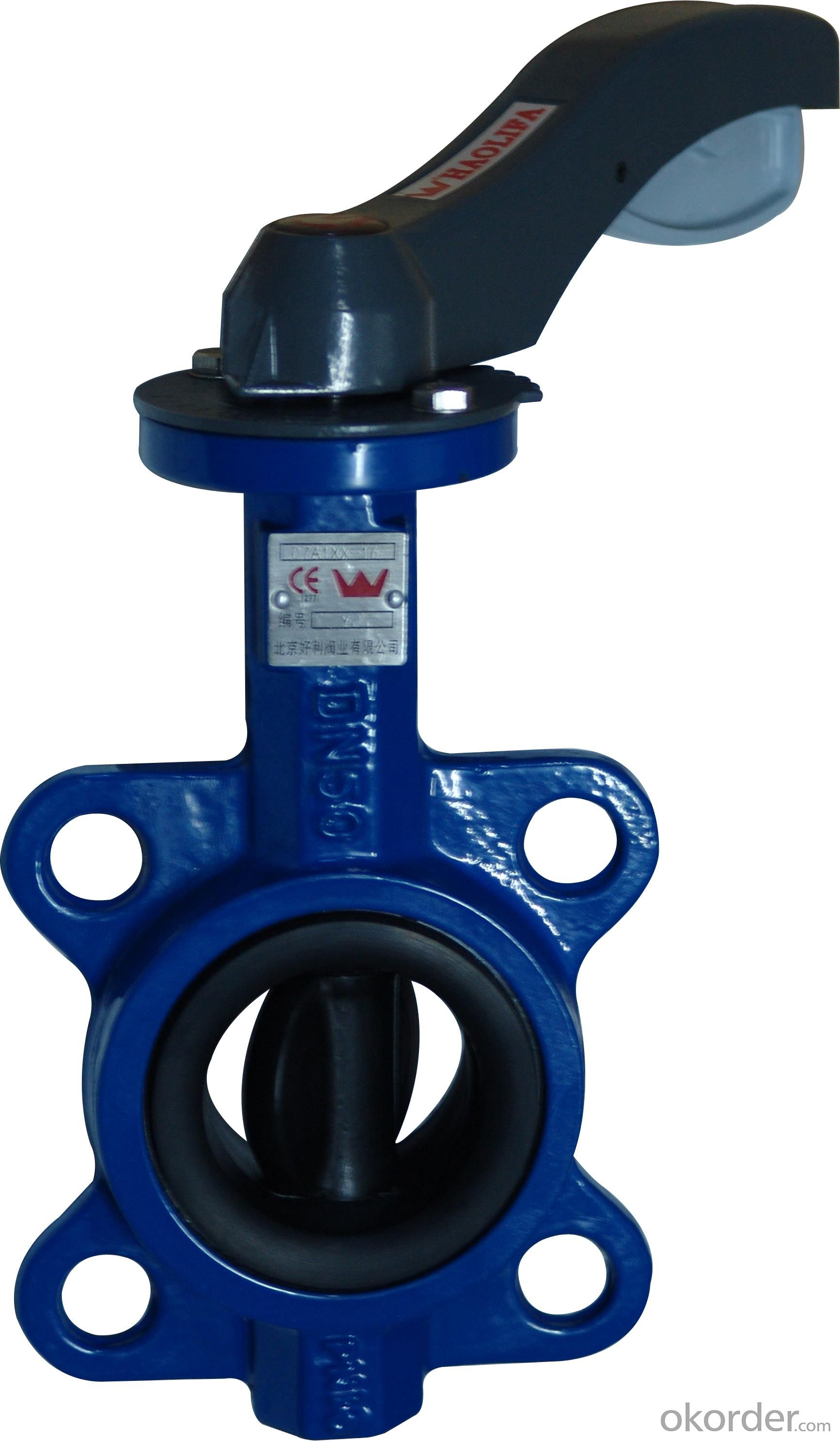 Ductile Iron Butterfly Valve Made in China