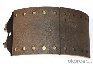 Brake ling  Heavy duty Kassbohrer semi truck brake lining China manufacturer