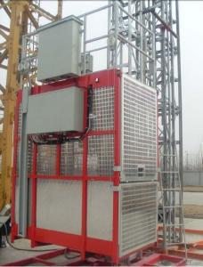 1200kgs one cage with frequency converter building hoist SC120G