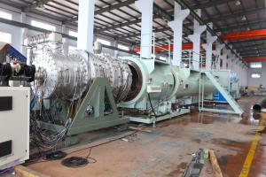 50-800mm Plastic HDPE Double Wall Corrugated Pipe Extrusion Line Machine