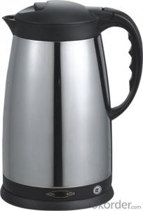 1.7 Litre Double Layers Stainless Steel Electric Kettle auto off