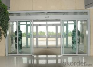 Stainless Steel Sliding Glass Door of Hot Sale