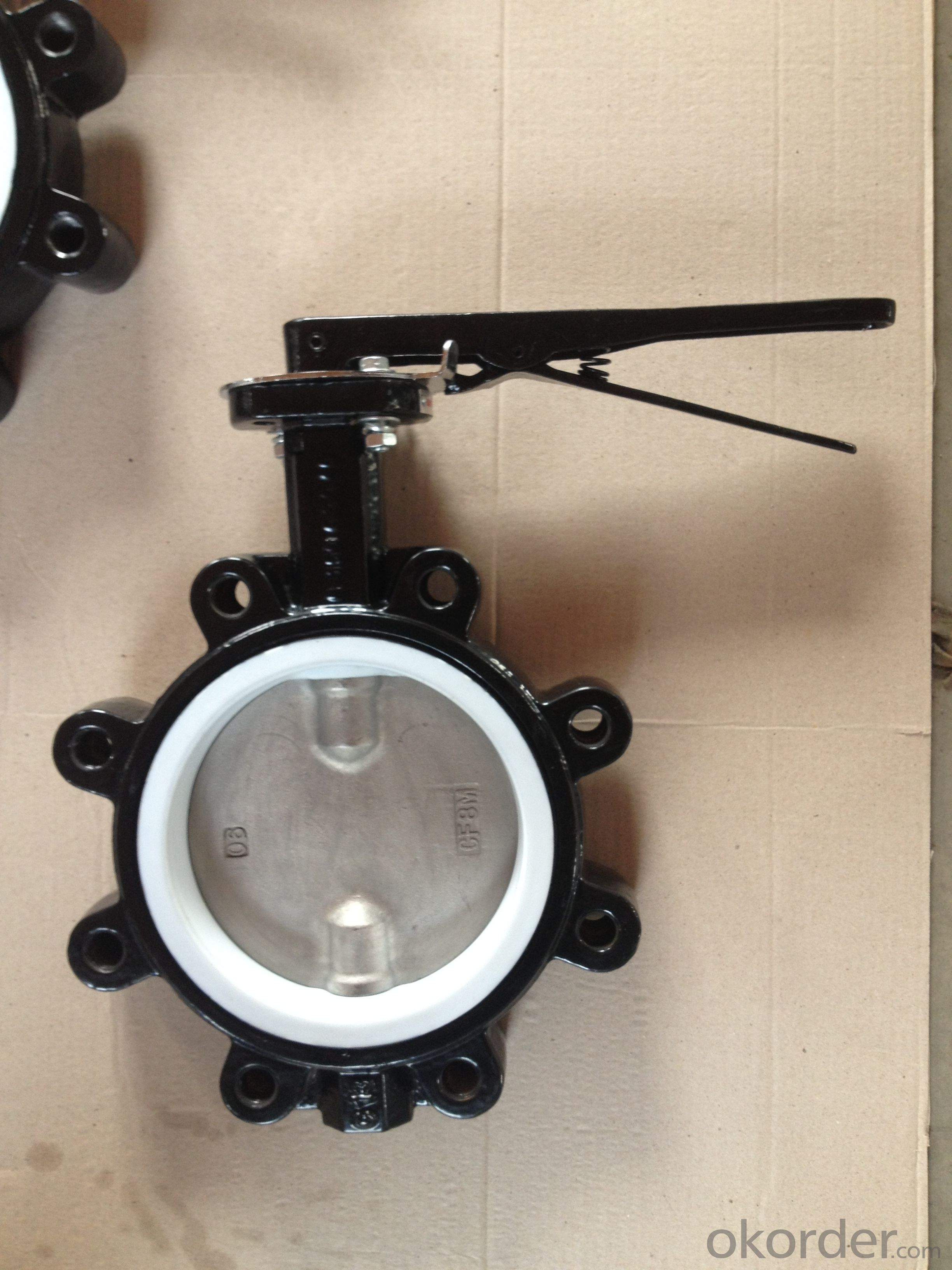 Ductile Iron Butterfly Valve Of Good Quality From China