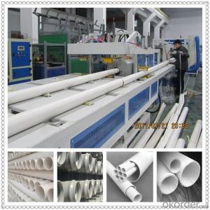 PVC small pipe making machine wire conduit pipe extruder machine