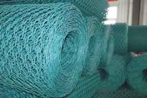 PVC Coated Hexagonal Wire Mesh With High Quality