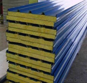 Rock Wool Sandwich Roof Panel  Used in Steel
