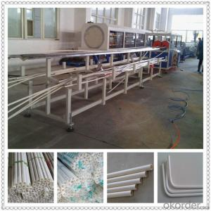 Electrical threading PVC conduit pipe production line