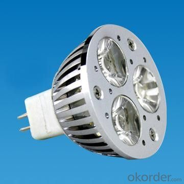 CRI 80Ra 3W 7W GU10 MR16 4500K COB led spot lighting