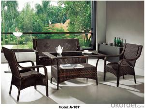 Outdoor furniture Rattan Garden Sets A-107