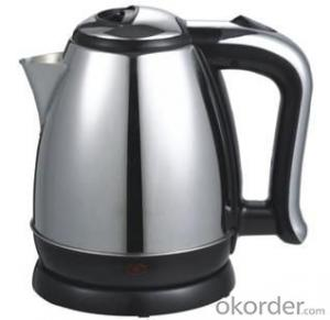 1.5 Litre Auto off Stainless Steel Electric Kettle with VDE plug