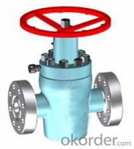 Manual Hidden Stem Flat Gate Valve from okorder