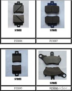 Non-asbestos Bus&Truck Brake Pads Auto parts for TOYOTA