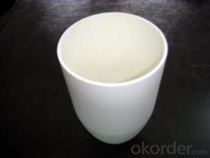 High Purity And density Alumina ceramic crucible