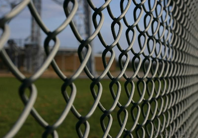 High Qaulity Chain Link Fence (PVC&Galvanized)