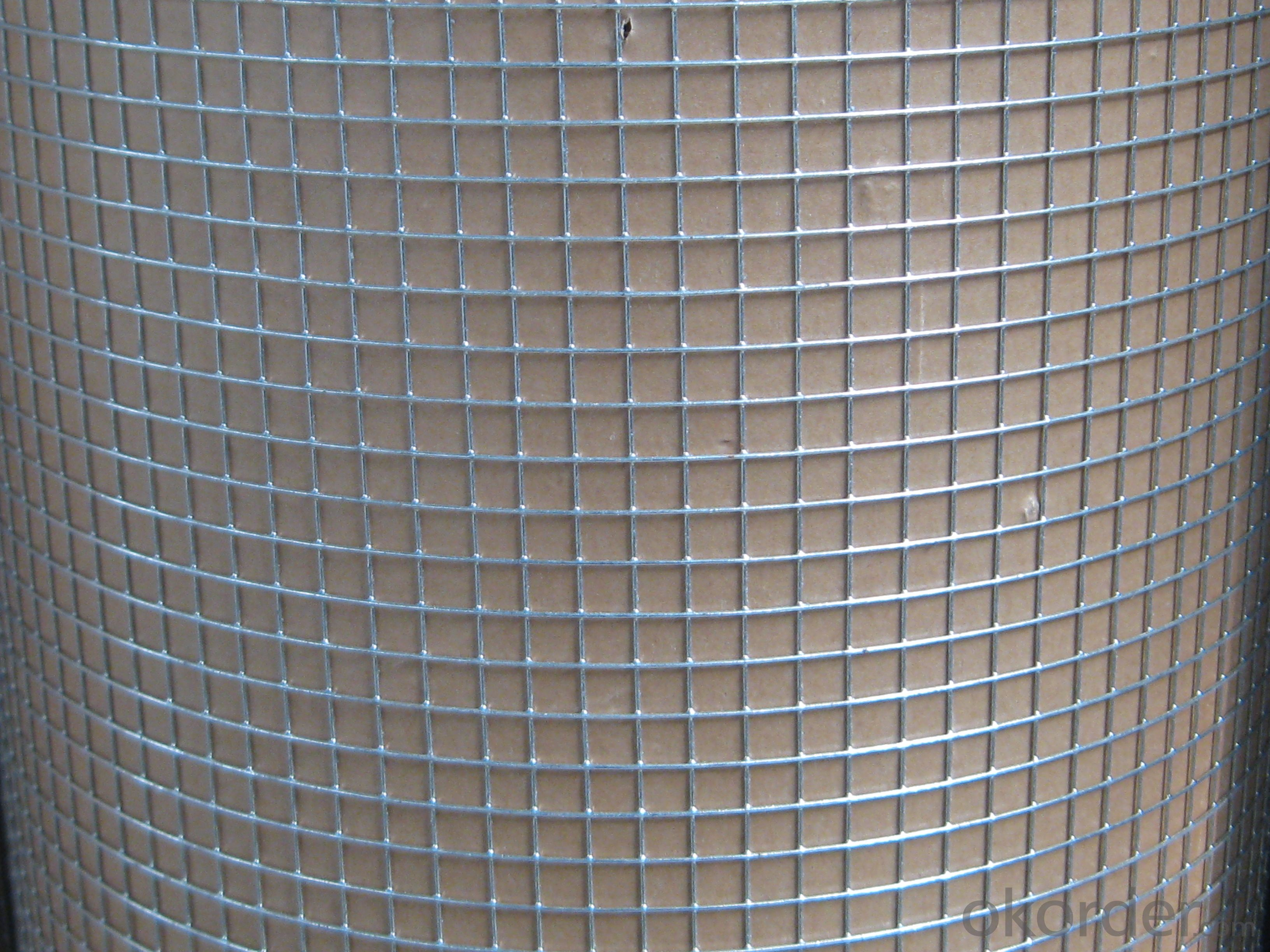 Buy Hot Dipped Galvanized Welded Wire Mesh Roll Price,Size,Weight ...