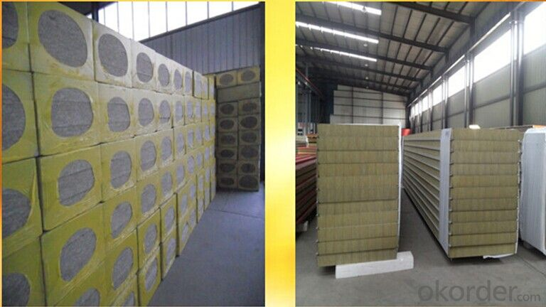 Low Thermal Conductivity Rock Wool  Product