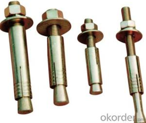 Carbon seel & copper & stainles steel  Expansion Wedge Anchor